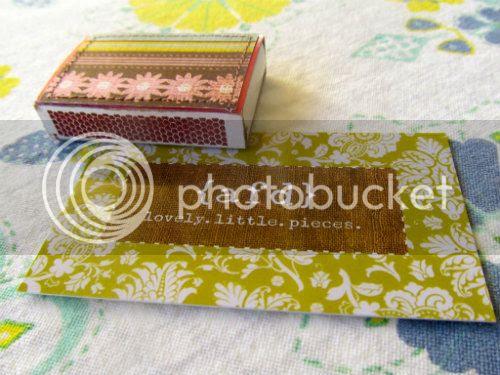 Anne Franklin Designs- covered match box