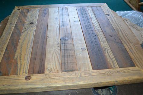 reclaimed barn wood table top  urban rustic