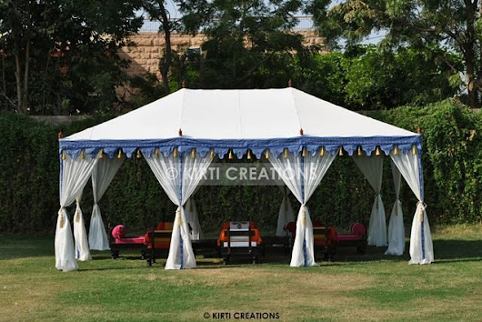Lavish Luxury Tents – Raj Tent