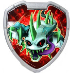 Slugterra Nightgeist Shield Target [Loose]