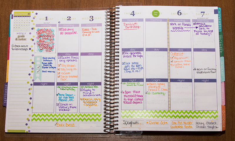 1000+ images about Planners - Erin Condren on Pinterest | Day ...