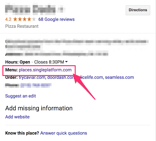 Google Business - Restaurant Menu Affiliate Scheme Uncovered!