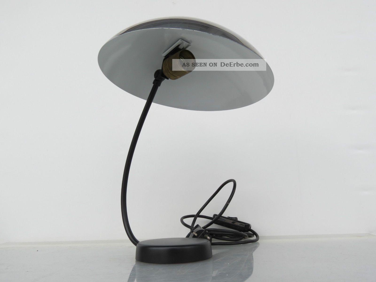 chrom lampe tisch leuchte tischleuchte schreibtischlampe