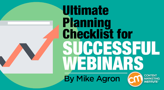 Ultimate Planning Checklist for Successful Webinars