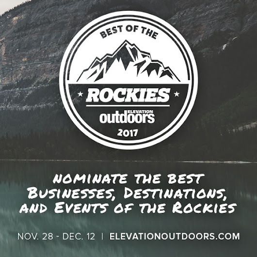 Best of the Rockies - Elevation Outdoors Magazine