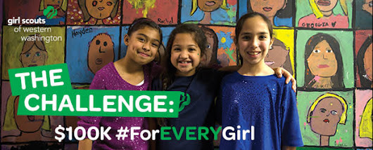 CLICK HERE to support Girl Scouts is #ForEVERYGirl