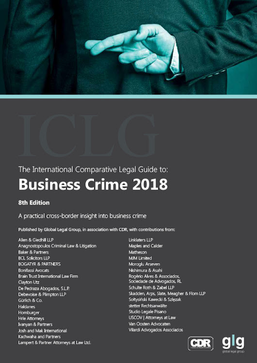 ICLG: Business Crime 2018