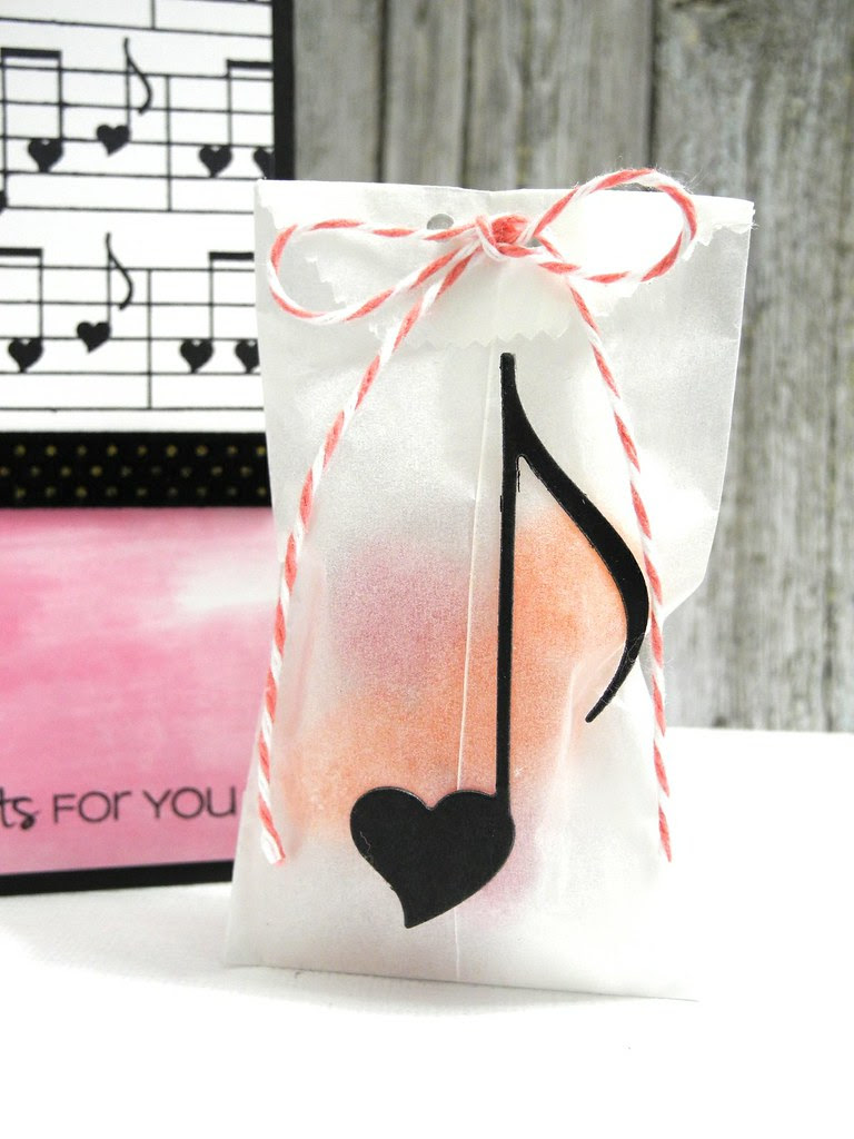 My Heart Beats only for you treat bag