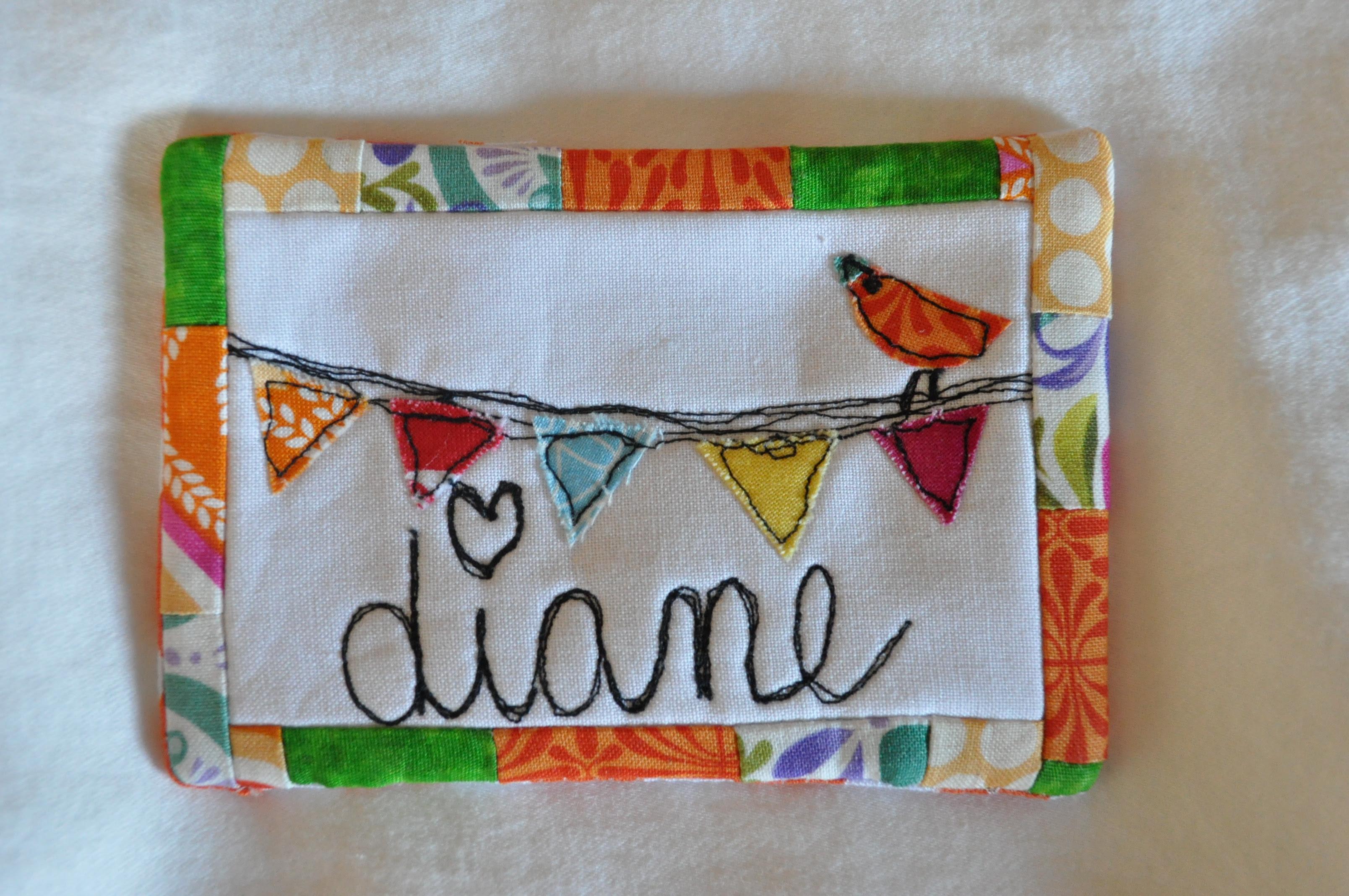 Sewing Summit name tag