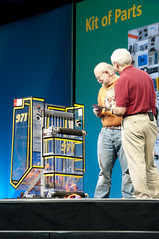 """Brad Miller and James Gosling, General Session """"The Toy Show"""" on June 5, JavaOne 2009 San Francisco"""
