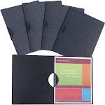 C-Line CLI33311 Executive Style Report Cover Black