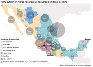 Desaparecidos MEXICO infografica