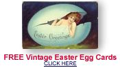 free vintage Easter egg cards