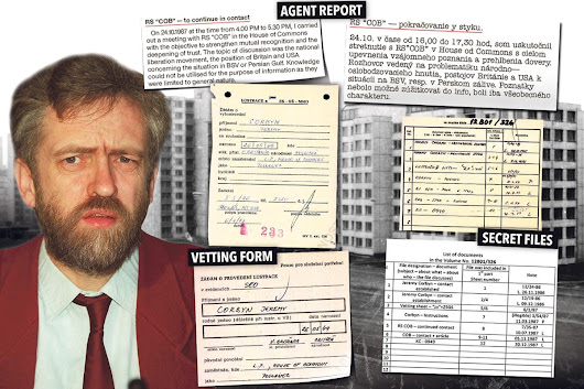 Jeremy Corbyn met a Communist spy during the Cold War and 'briefed' evil regime of clampdown by British int