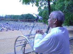 Man.BhanudasJi addressing children