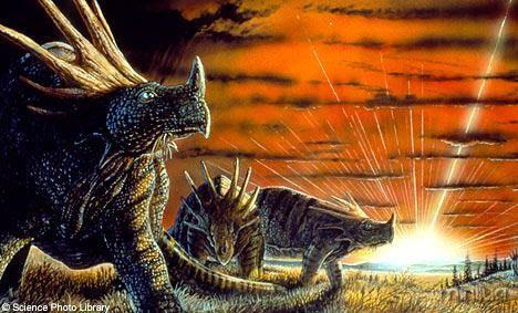 Motivo do Fim dos Dinossauros: Nuvem interestelar pode ter dizimado os dinossauros