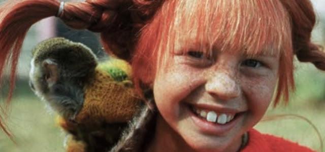 Pippi Calzaslargas y el mono Nelson