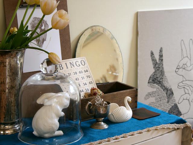 bunny in jar