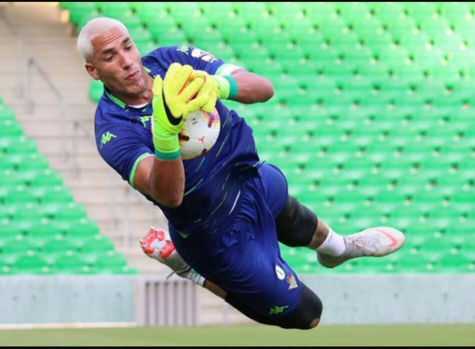 Real Betis goalkeeper, Joel Robles tests positive for Coronavirus