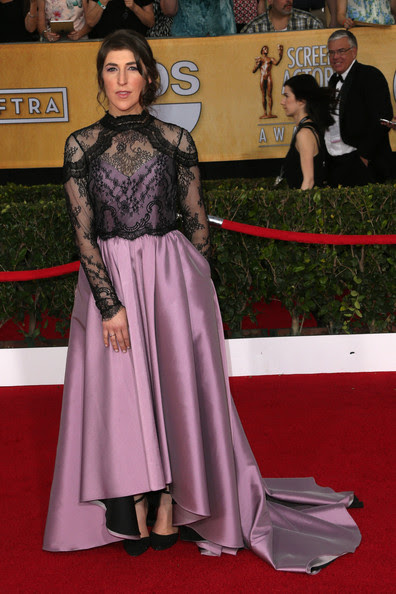 Mayim Bialik - 20th Annual Screen Actors Guild Awards - Arrivals