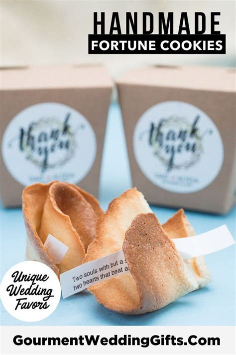 Personalized Fortune Cookies with Individual Gift Boxes in