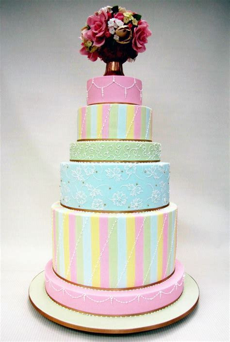 290 Best images about Cakes   Pretty Pastels on Pinterest