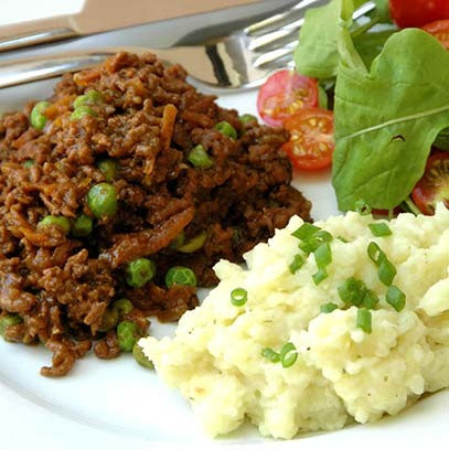 Cauli Mash n Beef Mince Recipes