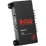 Boss Riot Class AB 2-Channel Car Amplifier, 200 W