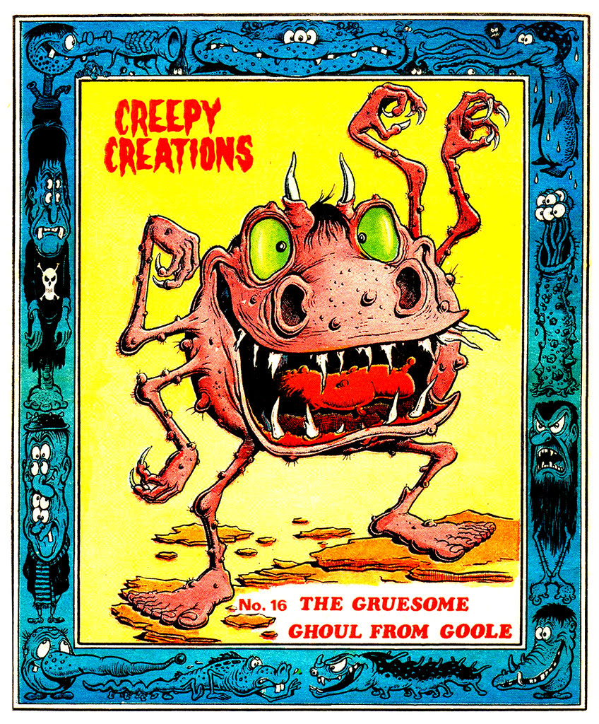 Creepy Creations No.16 - The Gruesome Ghoul From Goole