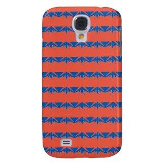 Original Blue Orange Design Samsung Galaxy S4 Case
