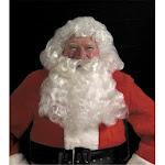 Deluxe Santa Wig & Beard Set - White