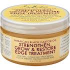 Shea Moisture Jamaican Black Castor Oil Edge Treatment - 4 oz jar
