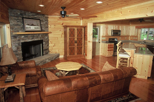 Log Cabin Decorating Ideas from Blue Ridge Log Cabins