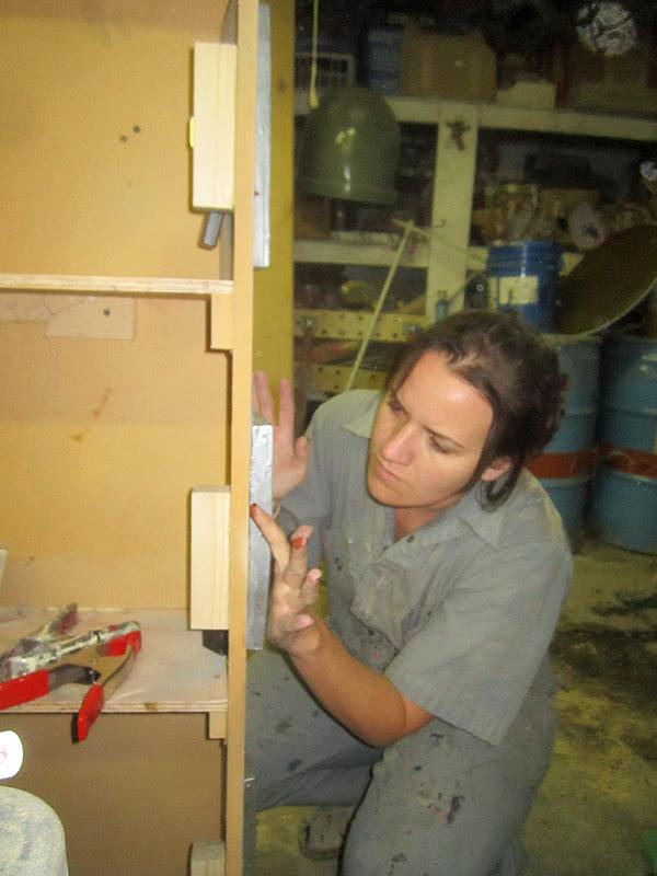 Jen Filling Holes
