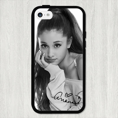 Sexy Ariana Grande cell phone case cover for Iphone 4S 5 5S 5C 6 Plus for Samsung galaxy S3 S4