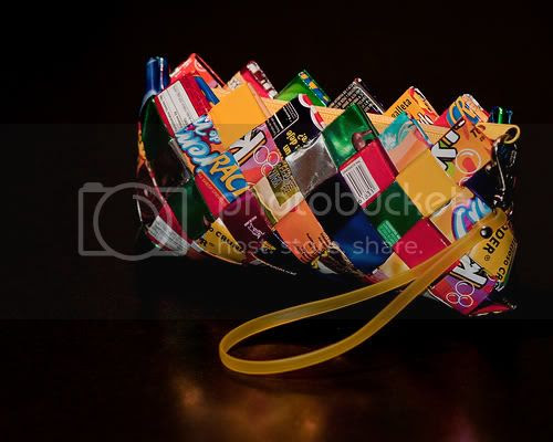 Candy Wrappers Purse