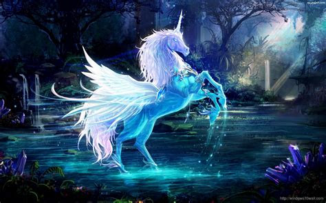 crystal horse fantasy wallpaper windows  wallpapers