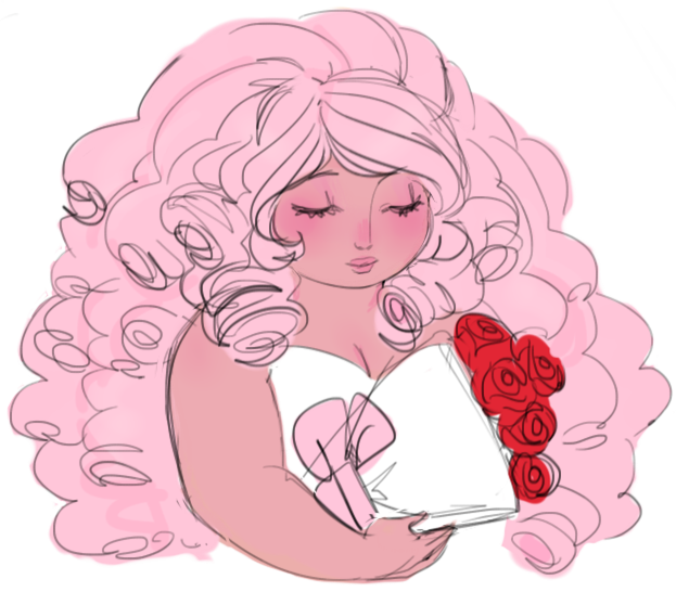 rose with roses