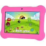 "Zeepad Kids 7"" 4GB Tablet Quad Core Cortex A7 Android 4.4 KitKat- Pink"