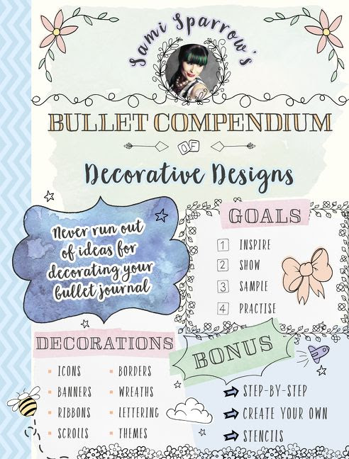 ***GIVEAWAY*** Sami Sparrow's Bullet Compendium of Decorative Designs