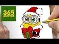 Imagenes De Dibujos Kawaii De Navidad Para Colorear