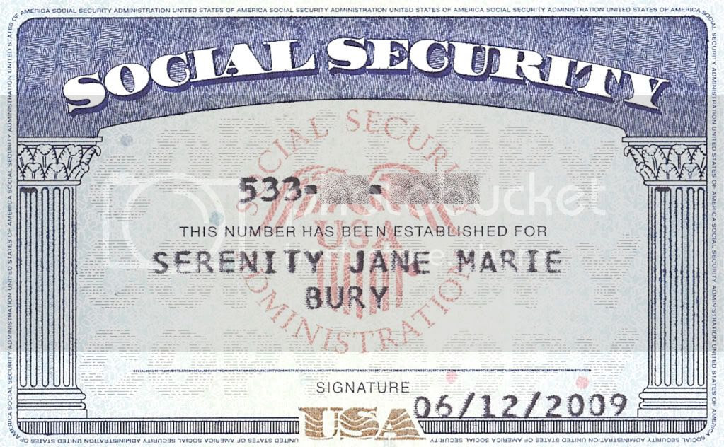 Real Social Security Card Back / How Long Must You Wait For A Replacement Social Security Card ...