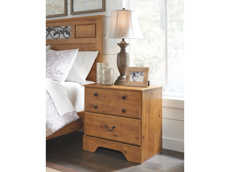 Signature Design By Ashley Bedroom Two Drawer Night Stand B219 92
