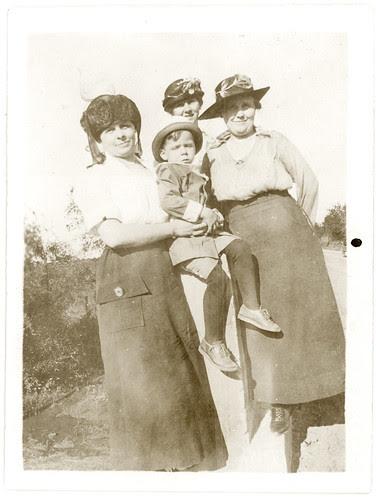 Three women one child