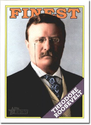 Theodore Roosevelt Trading Card