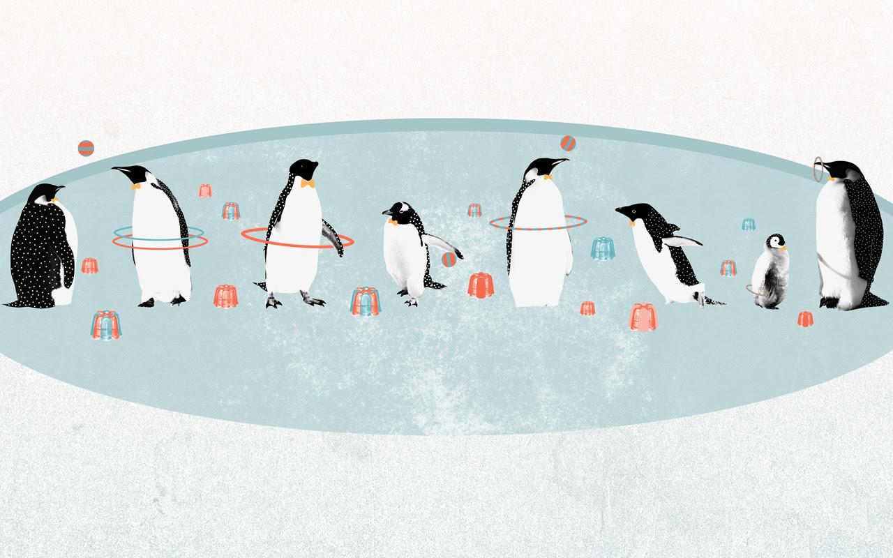 ペンギン壁紙 The Desktop Wallpaper Projectより スマホ壁紙ギャラリー