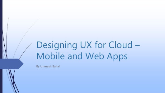 Designing a Mobile First UX