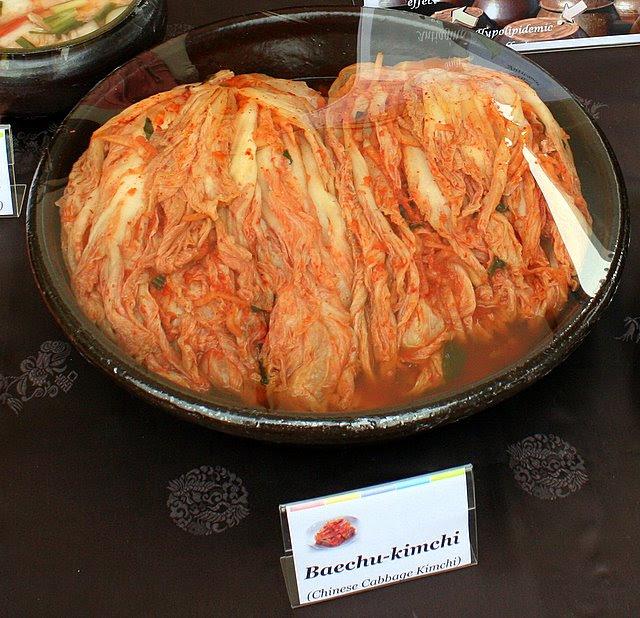 Baechu-kimchi - Chinese Cabbage Kimchi