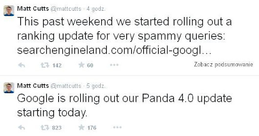 Panda Update 4.0 and Payday Loan Update 2.0