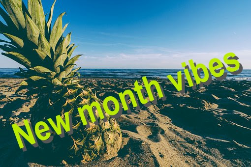 New month vibes.
